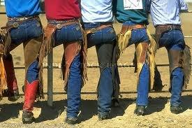 cowboy tushes